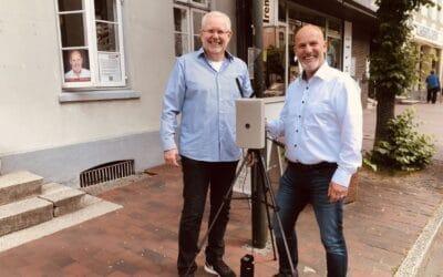 Wirtschaftsvereinigung Mölln startet digitale Verkehrszählung