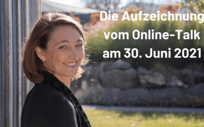 Aufzeichnung: Online-Talk mit Cordula Nussbaum – Organisierst Du noch oder lebst Du schon?