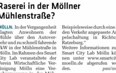 Raserei in der Möllner Mühlenstraße?